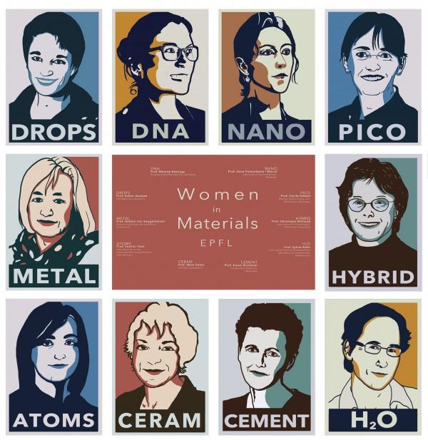 women in materials